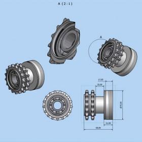 Fabricación bajo plano - Roller